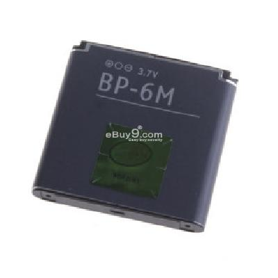 BP-6M Replacement Battery for Nokia N73 Cell Phones (3.7V 1100mAh) N089050-As picture