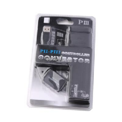 PS2 to PS3 USB Control Pad Converter Adapter PA158507-Black