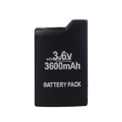 Rechargeable Battery Pack for PSP (3600mAh) PB103644-Black