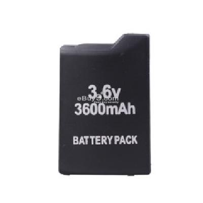 Battery Pack for Sony PSP (3600mAh) PB114429-Black
