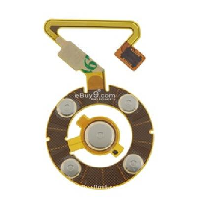 flex click wheel ribbon cable for apple ipod nano 5th (yellow) pr137y-yellow