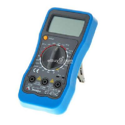2.0 inch LCD Handheld Digital Multimeter (Voltage + Current + Resistance + Temperature   1*6F22) PI121846-As picture