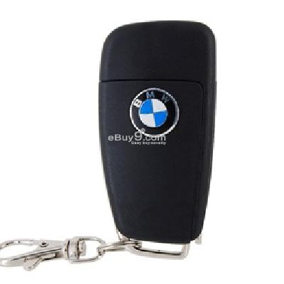 bmw a6l car remote key shell with folding key blank(black) rkrau6b-Black