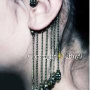 /gothic-antique-silver-punk-skull-gothic-ear-cuff-chain-tassel-earring-p-36981.html