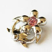 /hot-pink-flower-crystal-curved-belly-dance-navel-ring-navel-nail-piercing-p-37007.html