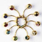 /10-pcs-gold-lot-double-gem-swarovski-curved-belly-navel-ring-piercing-p-37032.html