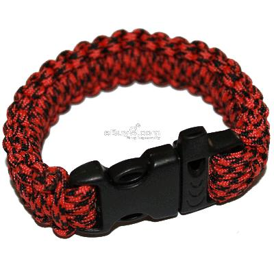 Brand Parachute Cord Military Survival Bracelet SL31w-Multi Color