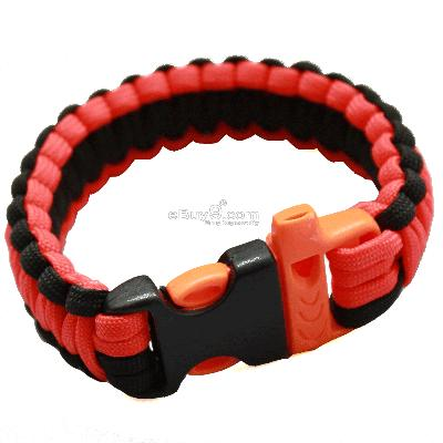 Bangle parachute cord Military Survival Bracelet SL88w-Multi Color