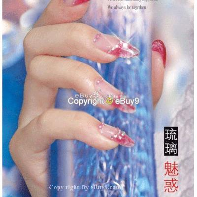 NEW 12 Colour Nail Art Acrylic Short Flash Powder Sa12w-As picture