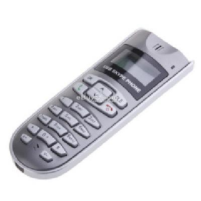 VOIP USB LCD Internet Phone for Skype with Wall Mount SP088254-As picture