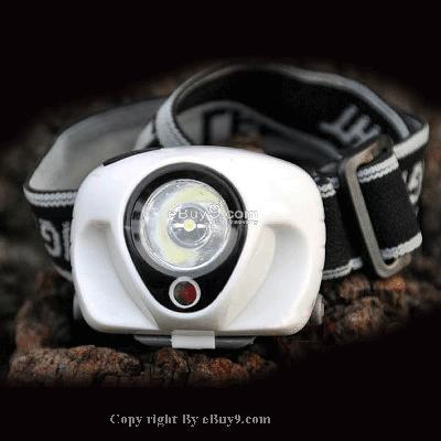 3W LED Flashlight 3 Watt Head HeadLight Headlamp T1Dw-White