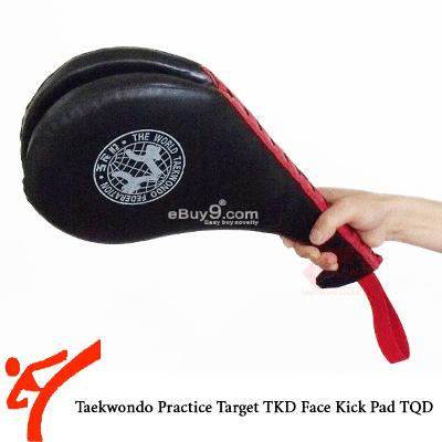NEW Taekwondo Practice Target TKD Face Kick Pad TQDw-Black
