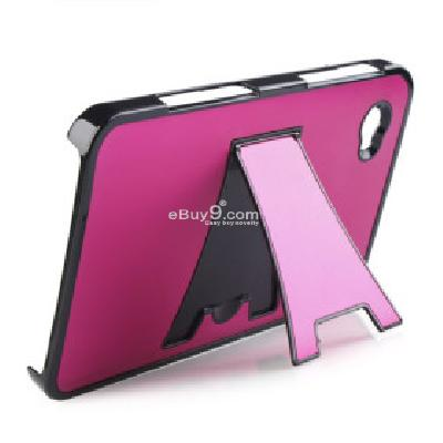Aluminum-Gehuse Cover + Stnder fr Samsung Galaxy Tab P1000 (Pink) TS178641-rosa