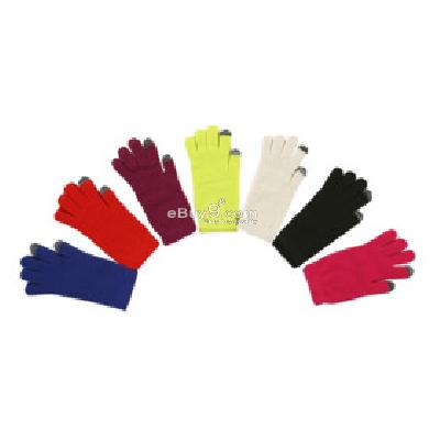 super sensitive touchscreen gloves for iphone, ipad, all touch screen devices tg241847-As picture
