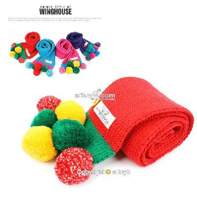 New Infant Toddler Beanie baby Handmade crochet scarf Photography Prop WeJiw-