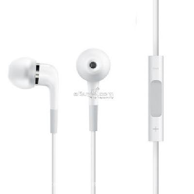 Replacement In-ear Headphone with Mic and Volueme Control for iPhone's Original Earphone WD191461-As picture