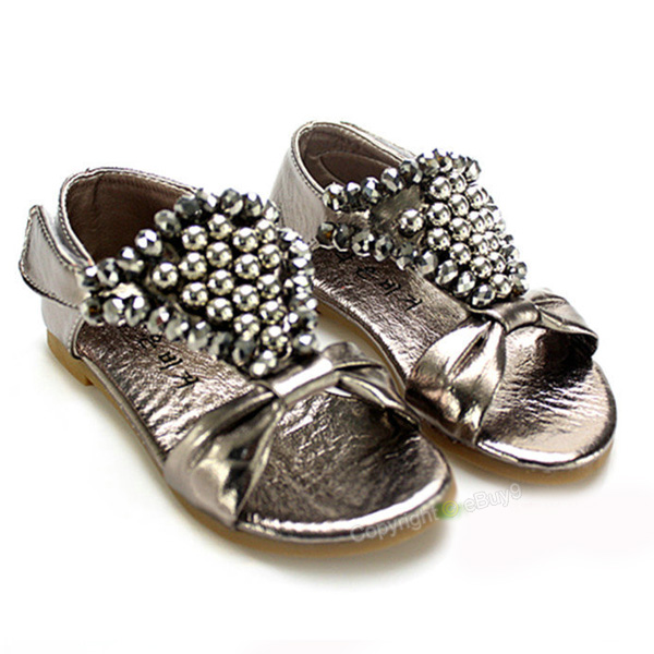 Flash-drill-Toddler-baby-Girls-Princess-dancing-Sandals-Shoes-US-5-fi-X1z3-22