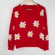 /flowers-daisies-sunflower-pullover-jumper-sweater-knitwear-coat-p-36939.html