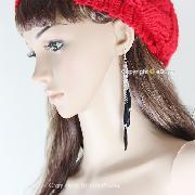 /beautiful-silver-chain-handcrafted-water-drop-black-beaded-long-earrings-yhehw-p-4111.html