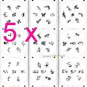 /5-pcs-nail-art-stamp-stamping-metal-image-plate-yihaw-p-914.html
