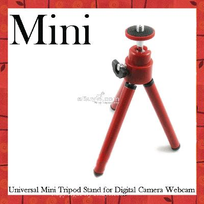 Universal Mini Tripod Stand for Digital Camera Zjia3w-Red