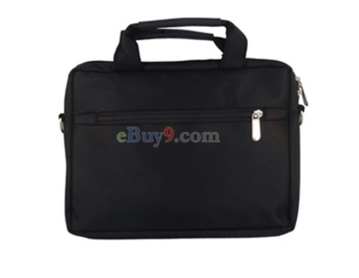"SHUBO Nylon Handbag Case for 10"" Laptop Notebook (Black)-As picture"