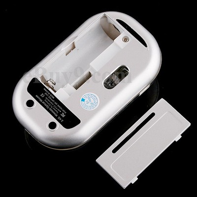 Mini White 2.4GHz Wireless Optical Mouse -As picture