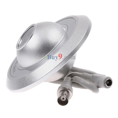 "1/3"" SONY CCD Ceiling UFO Flying Saucer CCTV Security Surveillance Camera PAL}-As picture"