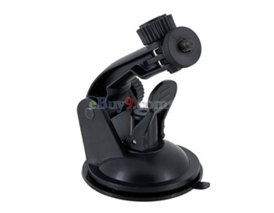 Swivel Mount Holder for Camera (Black)-As picture