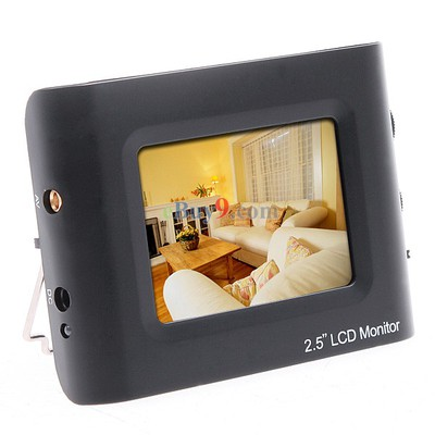 2.5inch Portable TFT LCD Monitor Testing Camera Video CCTV Tester-As picture