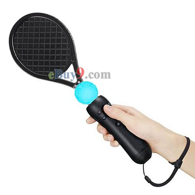 PS3 Move Tennis Racket Baseball Bat Golf Club Cover Sports Pack-As picture