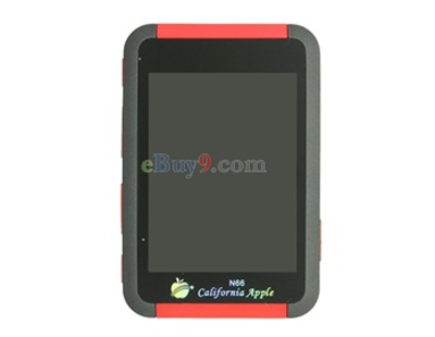 2GB Portable Digital MP4 MP5 Media Plaer (Red)}-As picture