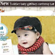 /coffee-toddler-baby-girl-boy-corduroy-hat-cap-bhraa-p-243.html