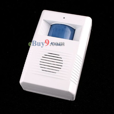 Electronic Motion Sensor Guest Saluting Doorbell -As picture