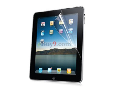 Schwarze Hrner Frosted Screen Protector fr Apple iPad 2-wie Bild