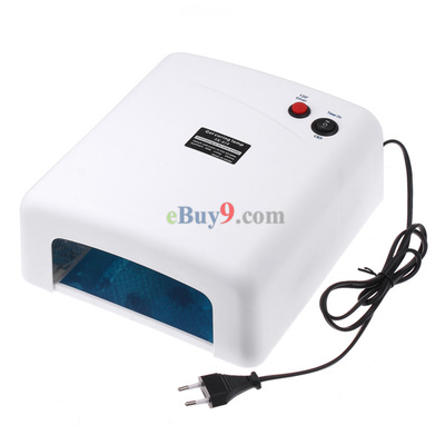 36W 220V Nail Art UV Lamp Gel Curing Tube Light Dryer}-As picture
