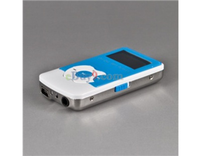 1.1&quot; OLED Screen 4GB MP3 Audio Player with Speaker (Blue)}-As picture