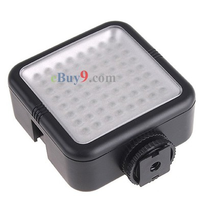 YONGNUO SYD-0808 64 LED 480LM Photo Light for Camera Film-As picture