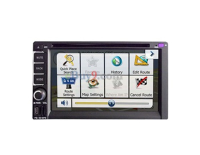 6.2 Inch J2618 Car PC DVD Player with GPS 3G WIFI and Analog TV Format-As picture