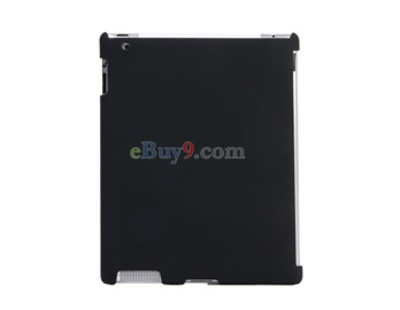 Open-Face Style Frosted Hard Back Cover Case for Apple iPad 2-As picture
