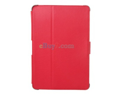 Protective Lichee Pattern Leather Case for SAMSUNG P7500 Galaxy Tab (Red)-As picture
