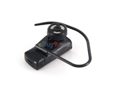 Stereo Bluetooth Headset for Nokia N65 (Black)-As picture