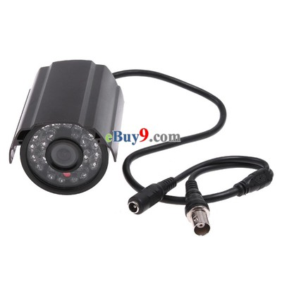 IR Infrared 24 LED Night View CCD Color CCTV Security Surveillance Camera PAL-As picture