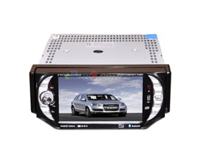 "1 Din 5.0"" Touch Screen Car DVD Player with TV FM Bluetooth DVB-T EMS Shipping-As picture"