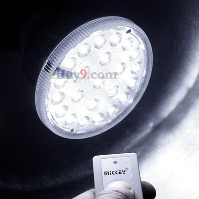 23 LED Rechargeable Emergency Light Lamp 2W Remote Control-As picture