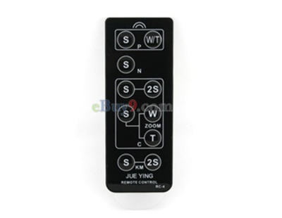 Multifunctional Remote Control for All Cameras (Black)-As picture