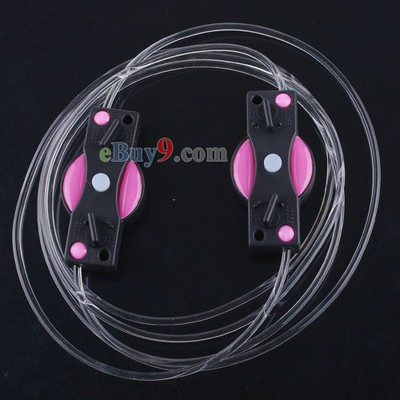 LED Light Up Shoes Shoelaces Luminous Shoestring Pink Light-As picture