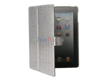 Multi-function Ultrathin iPad 2 Leather Case-As picture