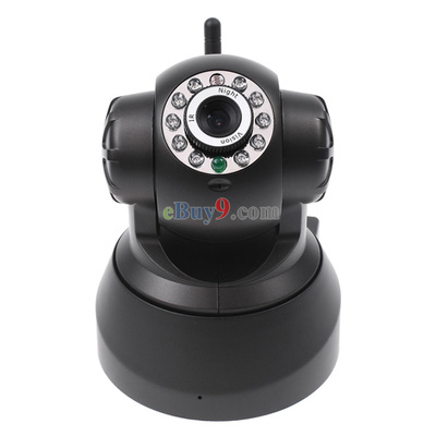Wireless WIFI IP Camera Webcam Night Vision 10 LED IR Dual Audio-As picture