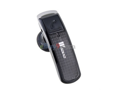 Bluetooth Mono Headset (Black)-As picture